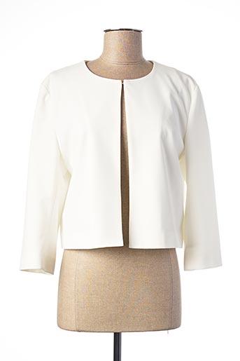 Veste chic / Blazer blanc POUSSIERE D'ETOLE pour femme