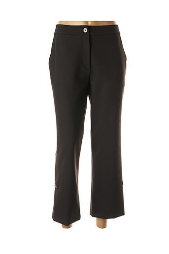 Pantalon 7/8 noir LAUREN VIDAL pour femme