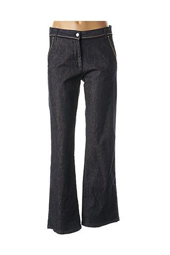 Pantalon casual bleu LE PETIT BAIGNEUR pour femme