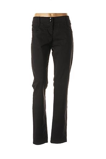 Pantalon casual noir VOODOO pour femme