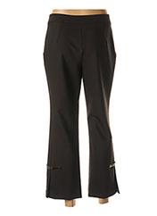Pantalon 7/8 noir LAUREN VIDAL pour femme seconde vue
