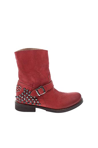 Bottines/Boots rouge TWIN SET pour femme