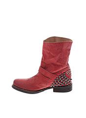 Bottines/Boots rouge TWIN SET pour femme seconde vue