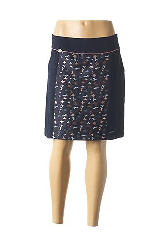 Jupe courte bleu ET COMPAGNIE pour femme