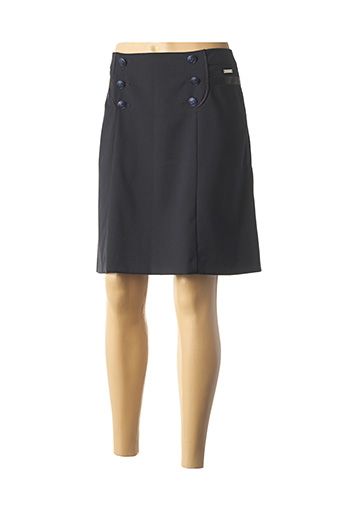 Jupe courte noir MAE MAHE pour femme