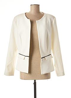Veste chic / Blazer beige DIANE LAURY pour femme