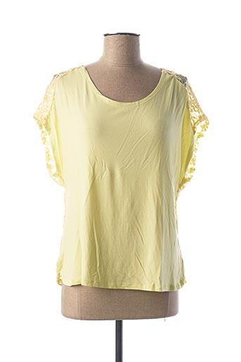 T-shirt manches courtes vert DANEVA pour femme