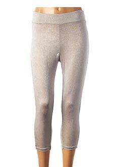 Legging gris CASSIOPEE pour femme
