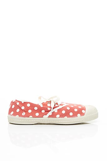 Baskets rouge BENSIMON pour fille