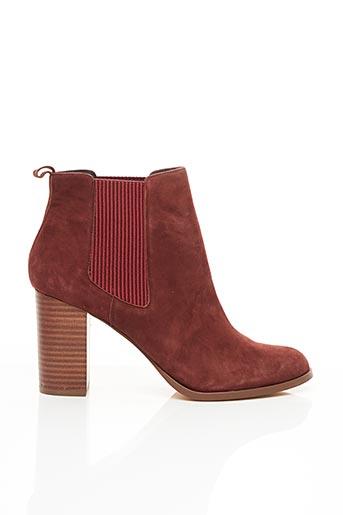 Bottines/Boots marron COSMOPARIS pour femme