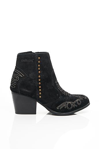 Bottines/Boots noir COOLWAY pour femme