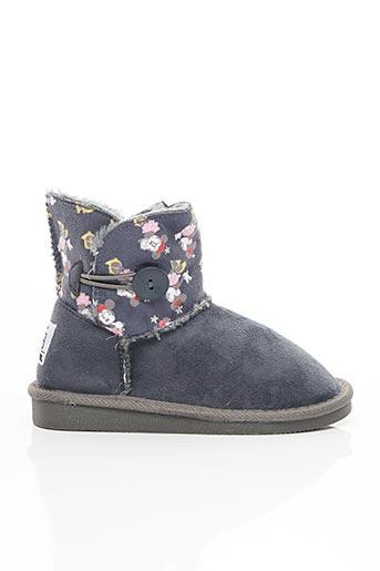 Bottines/Boots bleu CANGURO pour fille