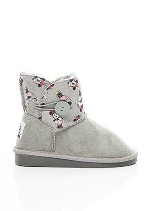 Bottines/Boots gris CANGURO pour fille