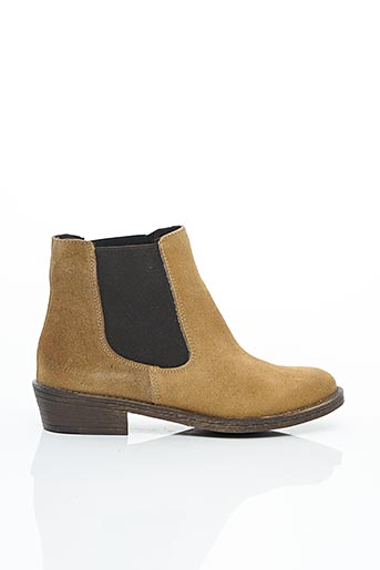 Bottines/Boots beige COOLWAY pour femme