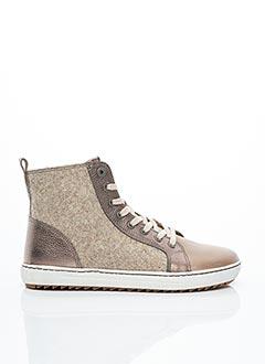 Bottines/Boots beige BIRKENSTOCK pour femme