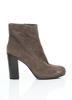 Bottines/Boots marron UNISA pour femme