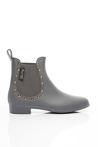 Bottines/Boots gris BE ONLY pour femme