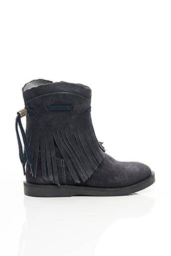 Bottines/Boots bleu SHOESME pour fille
