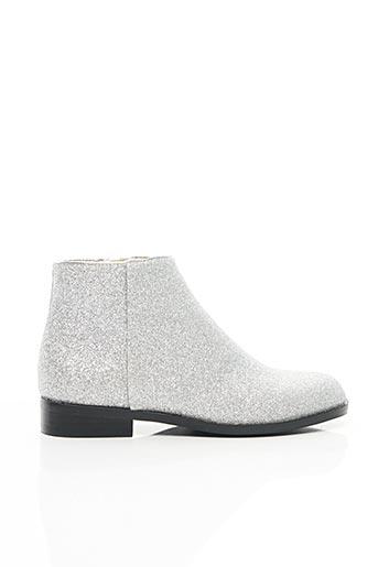 Bottines/Boots gris MELLOW YELLOW pour fille