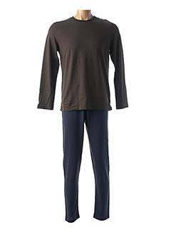 Pyjama marron IMPETUS pour homme