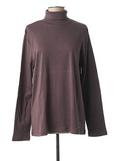 Sous-pull violet ROYAL MER BRETAGNE pour femme