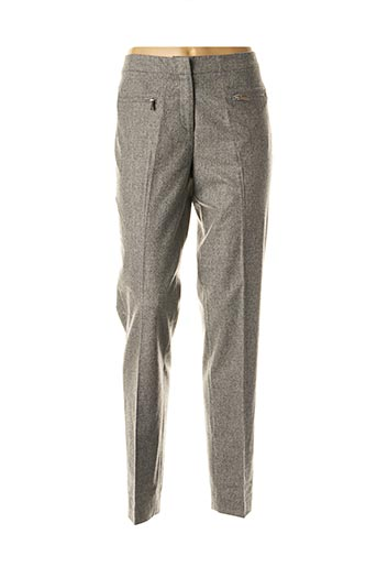 Pantalon chic gris FABIANA FILIPPI pour femme
