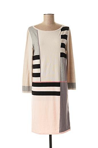 Robe mi-longue beige WEEKEND MAXMARA pour femme