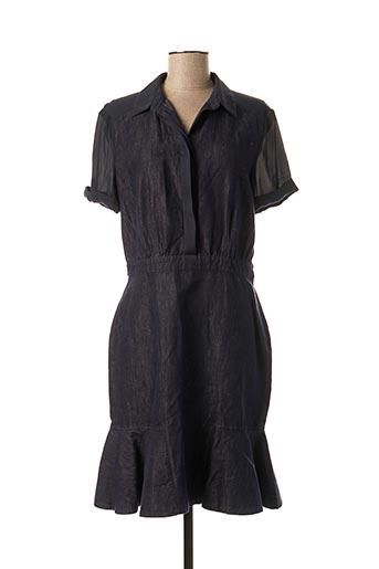 Robe mi-longue bleu SPORTMAX pour femme