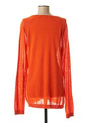 Pull col rond orange SPORTMAX pour femme seconde vue