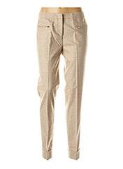 Pantalon chic beige FABIANA FILIPPI pour femme seconde vue