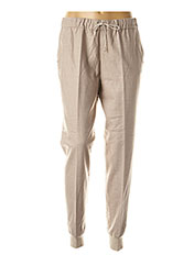 Pantalon casual beige FABIANA FILIPPI pour femme seconde vue
