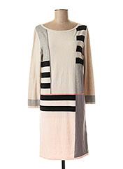 Robe mi-longue beige WEEKEND MAXMARA pour femme seconde vue
