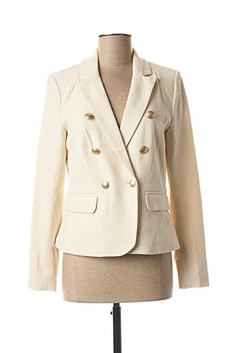 Veste chic / Blazer beige ONLY pour femme