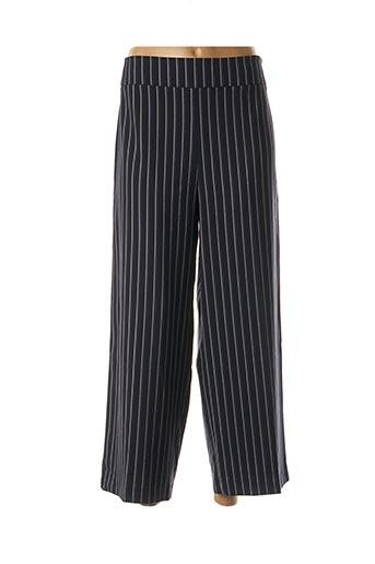 Pantalon casual bleu DENIM STUDIO pour femme