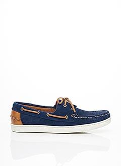 Chaussures bâteau bleu SARENZA pour homme