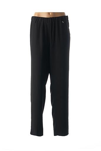 Pantalon casual noir MAT. pour femme