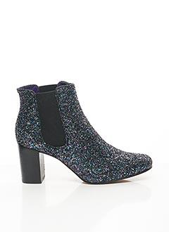 Bottines/Boots bleu ANAKI pour femme
