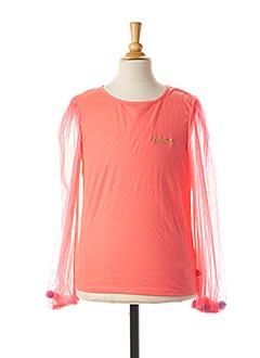 T-shirt manches longues rose BILLIEBLUSH pour fille