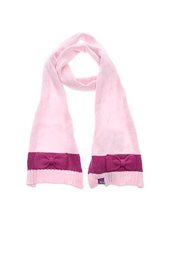 Echarpe rose TOM TAILOR pour fille