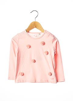 T-shirt manches longues rose TOM TAILOR pour fille