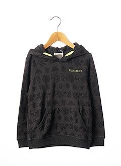 Sweat-shirt gris BILLYBANDIT pour garçon