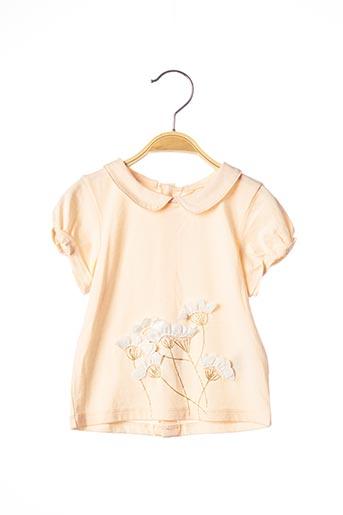 T-shirt manches courtes orange BILLIEBLUSH pour fille