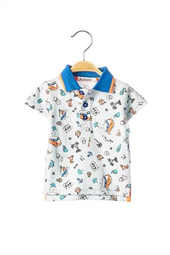 Polo manches courtes bleu BILLYBANDIT pour garçon
