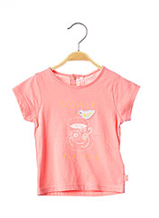 T-shirt manches courtes rose BILLIEBLUSH pour fille seconde vue