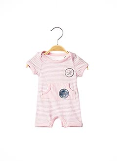 Combi-pantalon rose TOM TAILOR pour fille