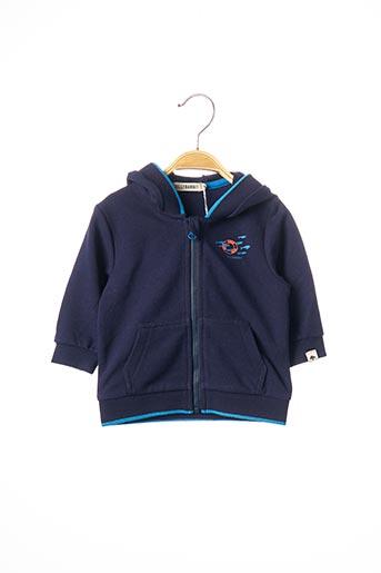Veste casual bleu BILLYBANDIT pour garçon
