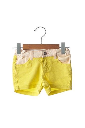Short jaune BILLIEBLUSH pour fille