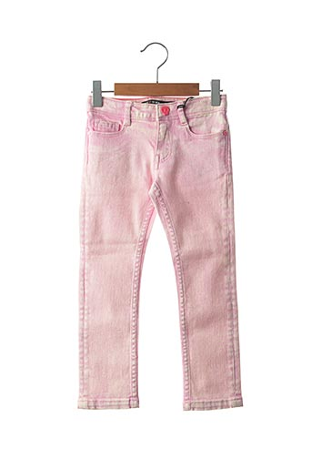 Jeans coupe slim rose SORRY 4 THE MESS pour fille