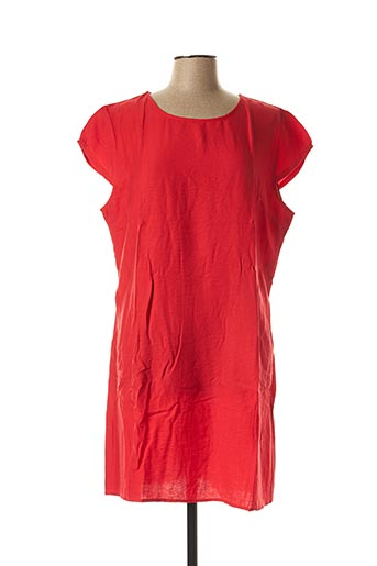 Robe courte rouge CHRISTY pour femme