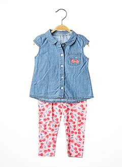 Top/pantalon bleu GUESS pour fille
